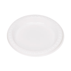 Tablemate Plastic Dinnerware Plates 6 Diameter