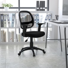 Flash Furniture Mesh Mid Back Swivel