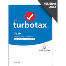 TurboTax Desktop Basic 2020 Federal Only