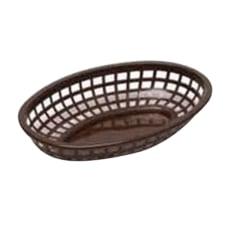 Tablecraft Oval Plastic Side Order Baskets