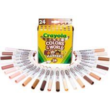 Crayola Colors Of The World Wet
