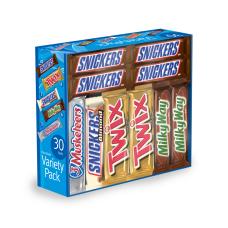 Mars Chocolate Bars Variety Pack Of