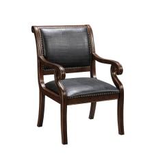Coast to Coast Accent Chair Black