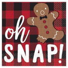 Amscan Christmas Oh Snap 2 Ply