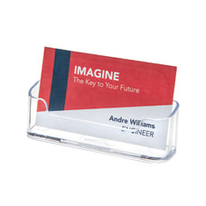 Deflect O Single Compartment Business Card