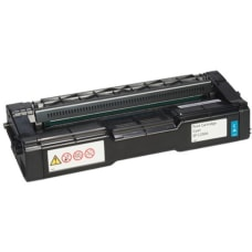 Ricoh Original Toner Cartridge Cyan Laser