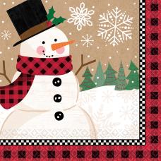 Amscan Christmas Winter Wonder 2 Ply