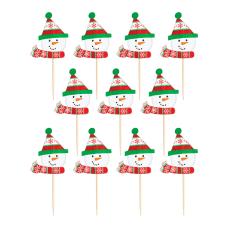 Amscan Christmas Snowman Party Picks 2