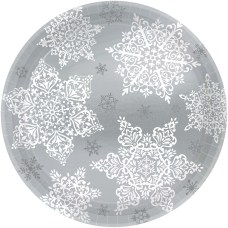 Amscan Christmas Shining Season Paper Plates