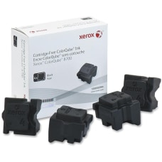Xerox ColorQube 8700 4 pack black