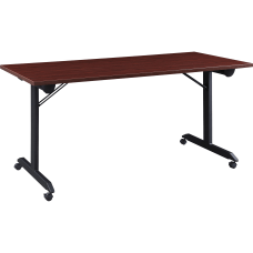 Lorell Mobile Folding Training Table 29