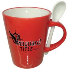 Cocoa Spoon Mug 12oz