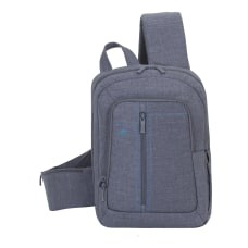 Rivacase 7529 Canvas Sling Bag With