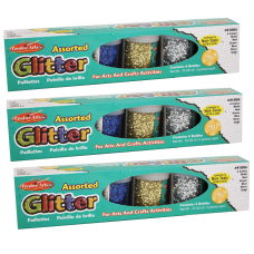 Charles Leonard Creative Arts Glitter Sets