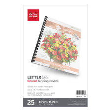 Office Depot Brand Binding Covers 8