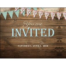 Custom Wedding Invitations 5 12 x