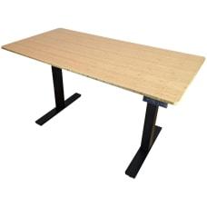 Uncaged Ergonomics RUBB48 Standing Desk Natural
