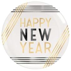 Amscan Happy New Year Plastic Plates