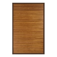 Anji Mountain Contemporary Natural Bamboo Rug