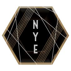 Amscan New Years Eve Hexagonal Paper