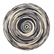 Anji Mountain Hurricane Round Area Rug