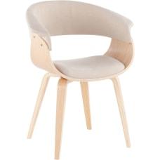 LumiSource Vintage Mod Chair CreamNatural