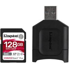 Kingston Canvas React Plus 128 GB