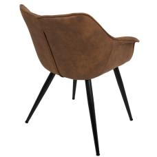 LumiSource Wrangler Chairs BlackRust Set Of