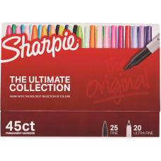 Sanford Sharpie Ultimate Coll Permanent Markers