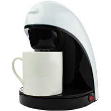 Brentwood Single Cup Coffee Maker White
