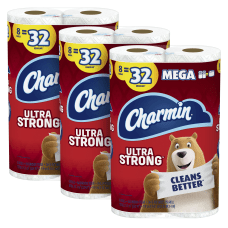 Charmin Ultra Strong Mega Roll 2