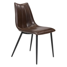 Zuo Modern Norwich Dining Chairs BrownBlack
