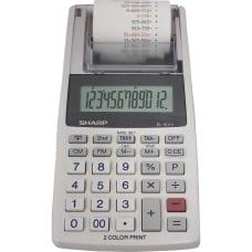 Sharp EL 1611V 12 digit Mini