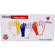 Omar Disposable Powder Free Vinyl General