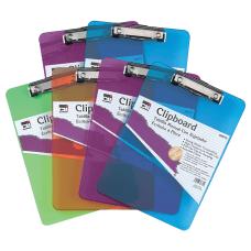 Charles Leonard Transparent Plastic Clipboards 9