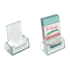 Azar Displays Vertical Acrylic BusinessGift Card