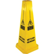Genuine Joe Bright Four sided Caution