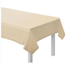 Amscan Large Hem Stitch Fabric Table