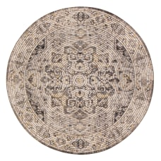 Anji Mountain Zagros Round Area Rug