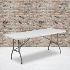 Flash Furniture Plastic Folding Table 29