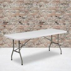 Flash Furniture Plastic Folding Table 29