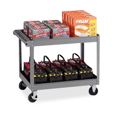 Tennsco Service Cart 2 Shelves 36