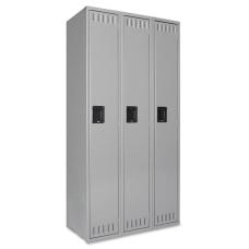 Tennsco Single Tier Locker 3 Wide