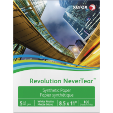 Xerox Revolution Laser Print Synthetic Paper