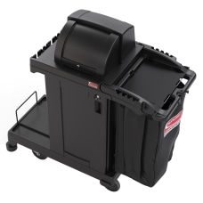 Suncast Commercial Resin Cleaning Cart High