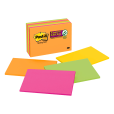 Post it Super Sticky Notes 6