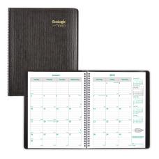 Brownline Ecologix Monthly Planner 11 x