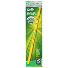 Ticonderoga Pencils 3 Lead Hard Pack