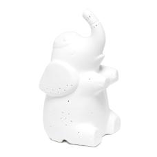 Simple Designs Porcelain Elephant Shaped Table