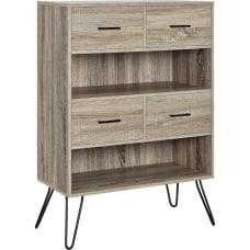 Ameriwood Home Landon Retro 2 Shelf